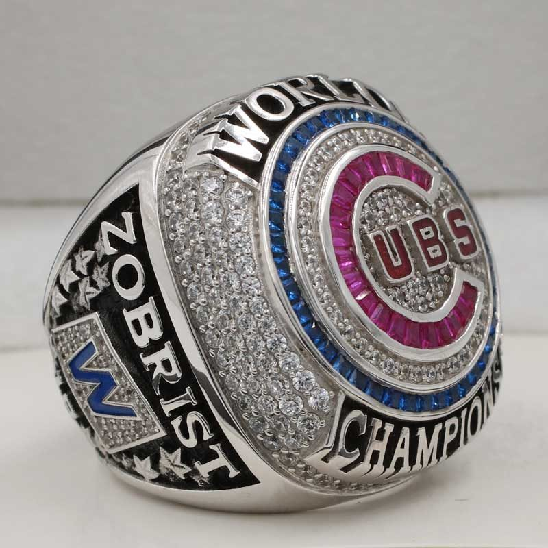 cubs world series 2016 ring