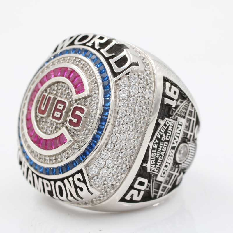 2016 world series ring