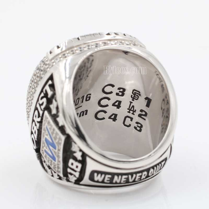world series 2016 ring view 3