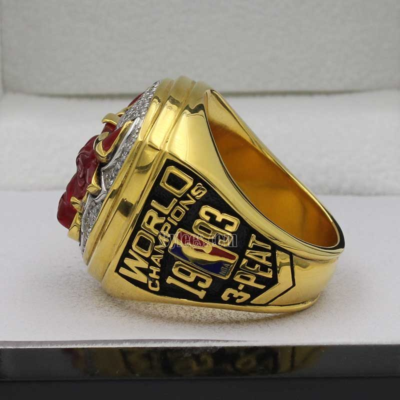 1993 chicago bulls ring