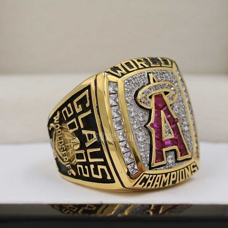 2002 angels world series ring