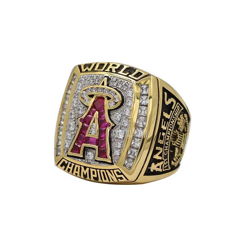 angels world series ring