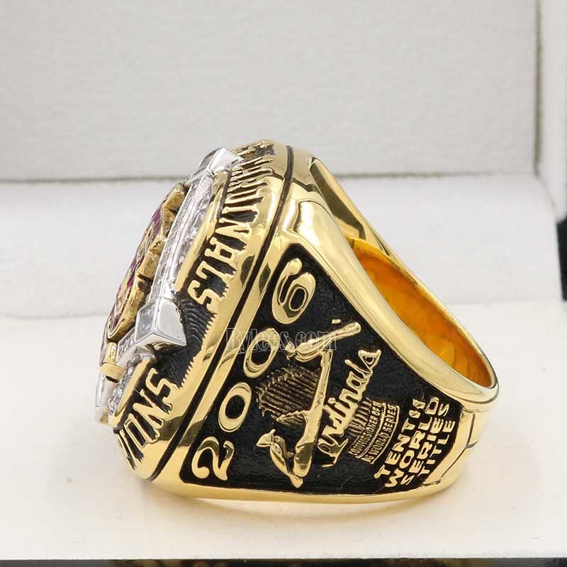 2006 st louis cardinals world series ring