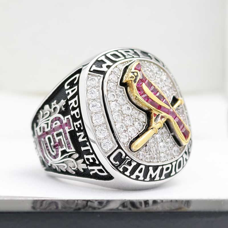 2011 world series ring