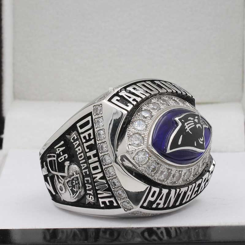 2003 Carolina Panthers Championship Ring
