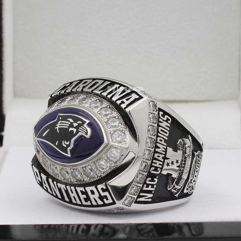2003 Carolina Panthers National Football Championship Ring