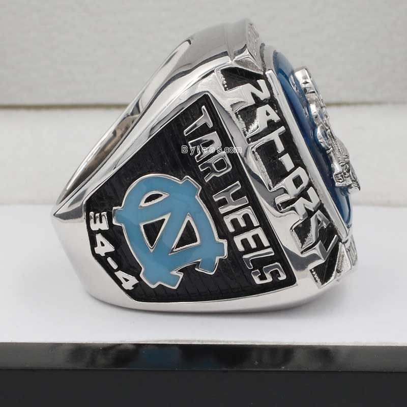 North Carolina Tar Heels 2009 Basketball National Championship Ring