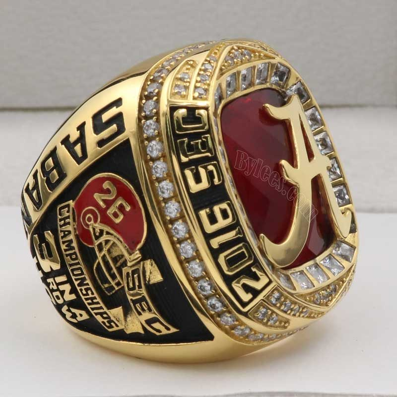 2016 Crimson Tide SEC Championship Ring