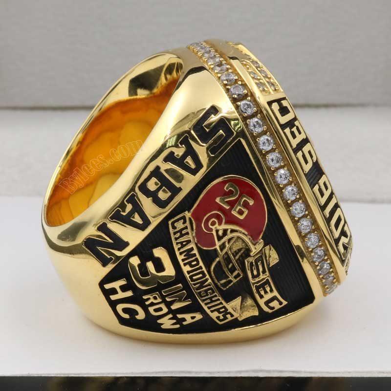 Alabama 2016 Football SEC Championship Ring