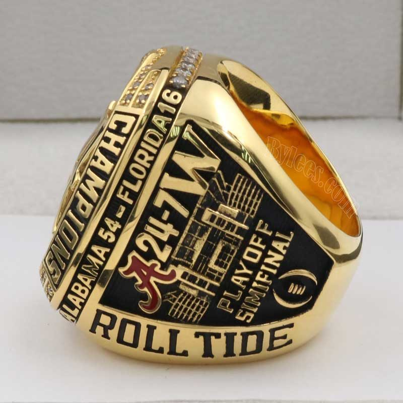 Crimson Tide 2016 SEC Championship Ring