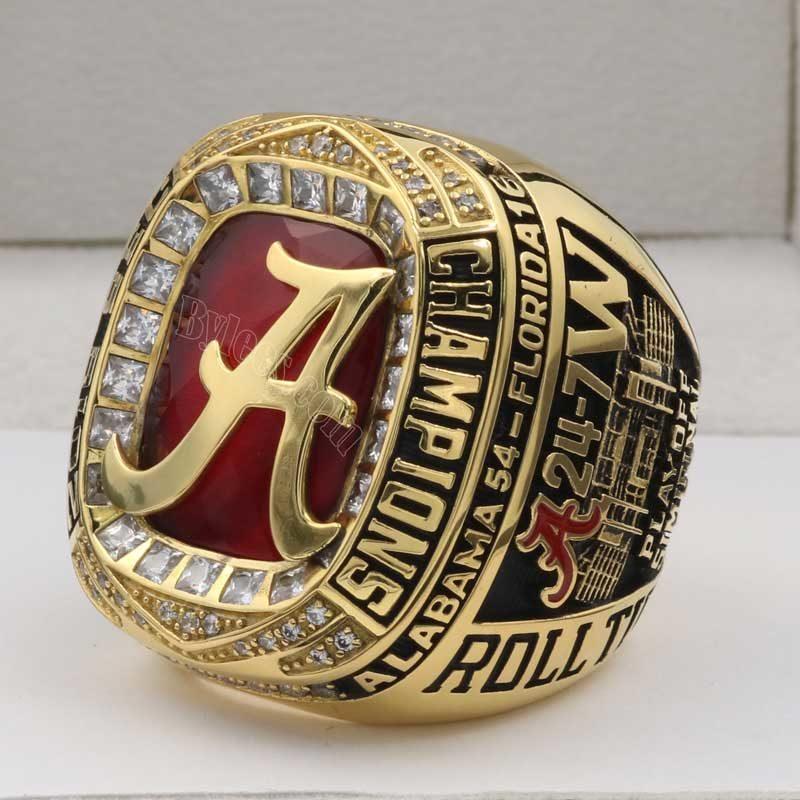 Alabama Crimson Tide Football SEC Championship Ring 2016