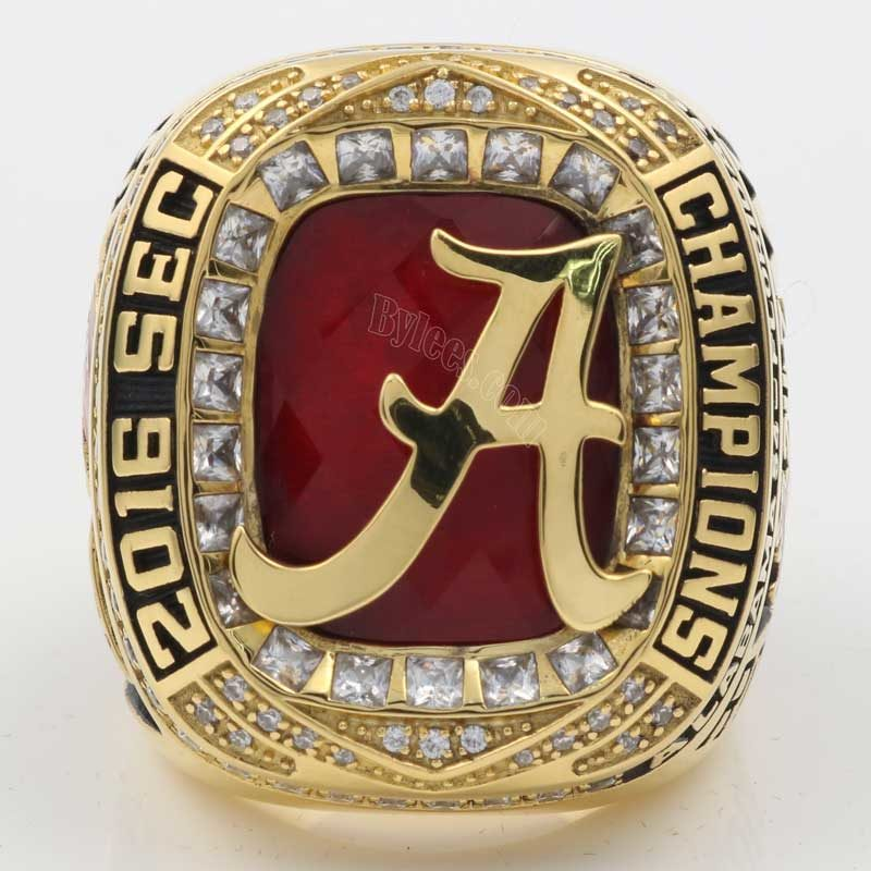 2016 Alabama Crimson Tide Football SEC Championship Ring