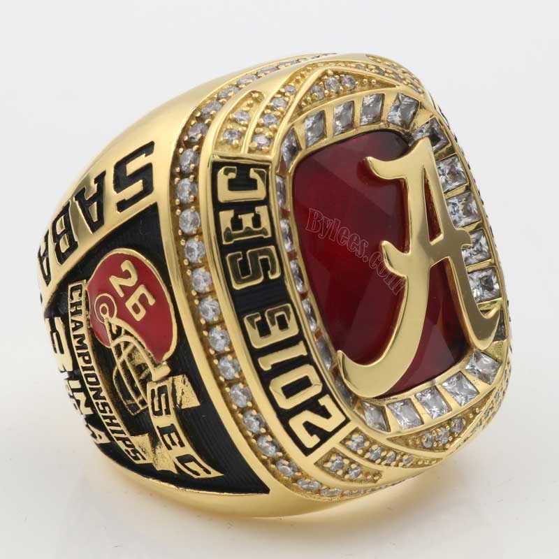 Alabama 2016 SEC Championship Ring