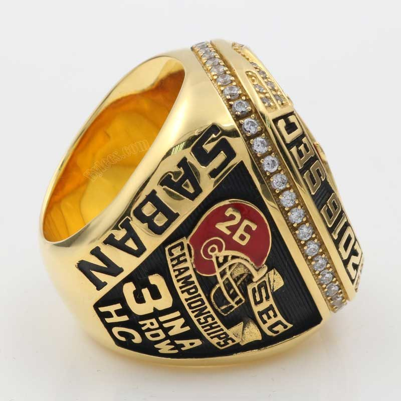 Alabama football championship ring 2016