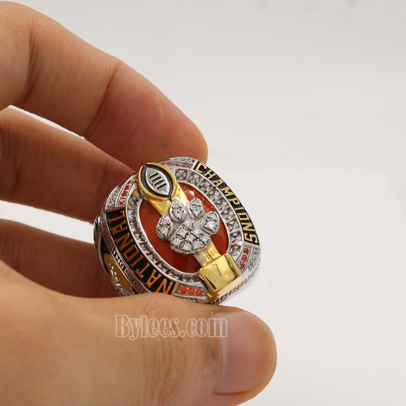 Clemson Tigers 2016 Football National Championship ring