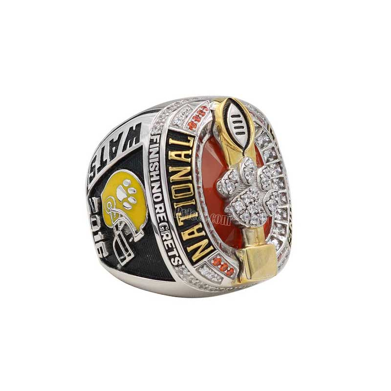 ring custom rings championship mens men p clemson tigers ncaaf football college s champions