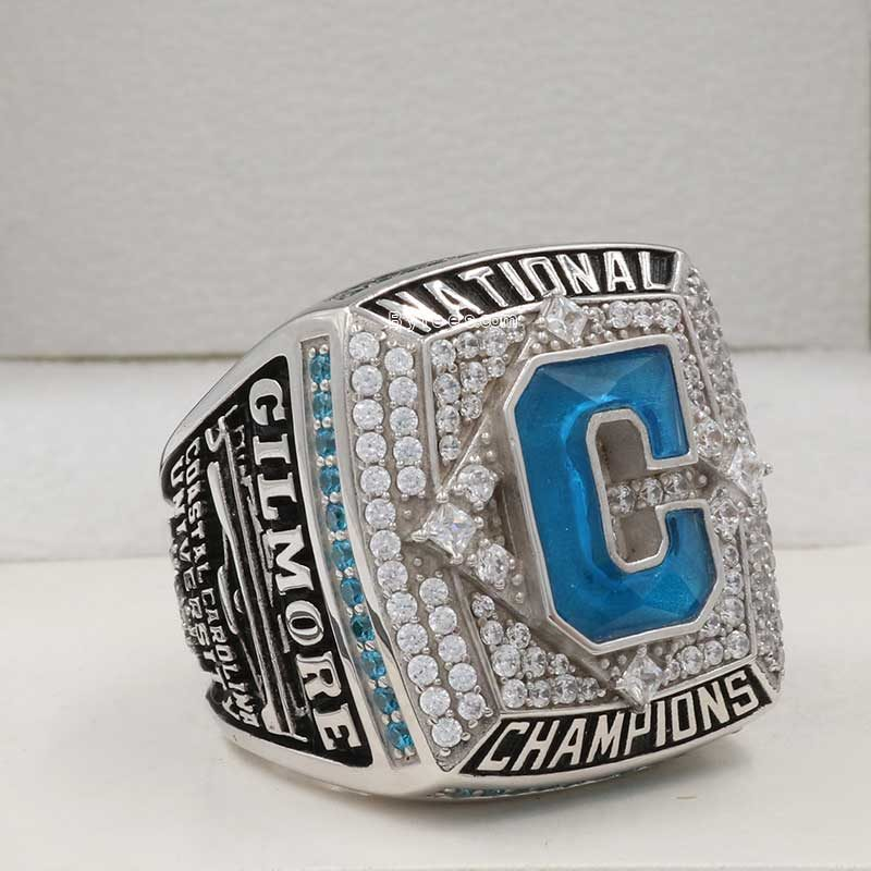 2016 Coastal Carolina World Series Championship Ring
