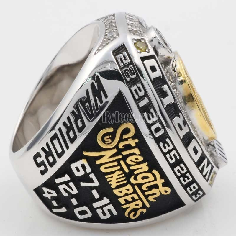 2017 nba fan championship ring
