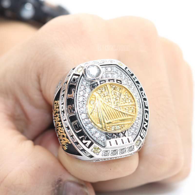 2017 Golden State Warriors NBA Fan Championship Ring-