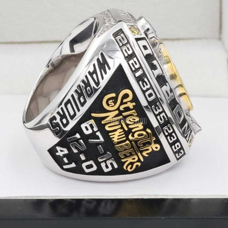 Golden State Warriors 2017 NBA Fan Championship Ring