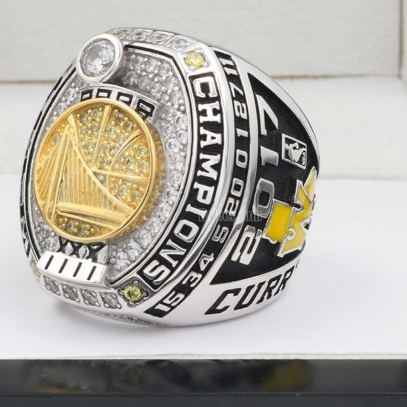 Golden State Warriors NBA Fan Championship Ring 2017