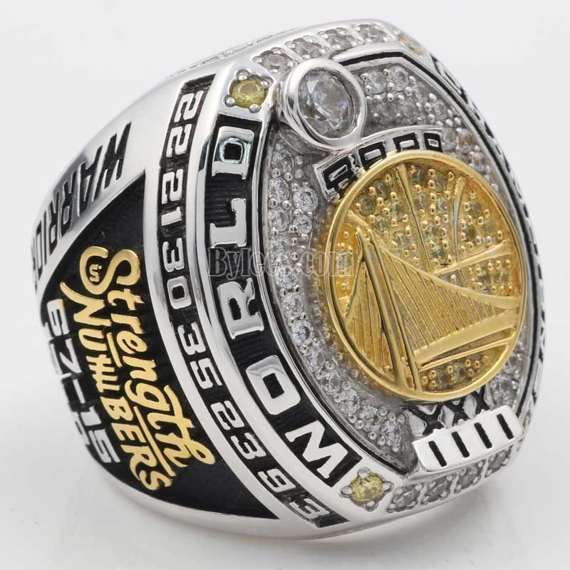 Warriors fan Championship Ring 2017