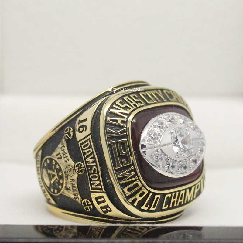 1969 kc chiefs super bowl ring