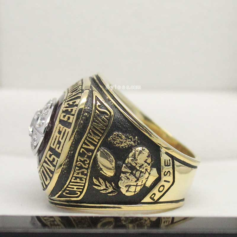 1969 Super Bowl IV kc Chiefs Championship Ring