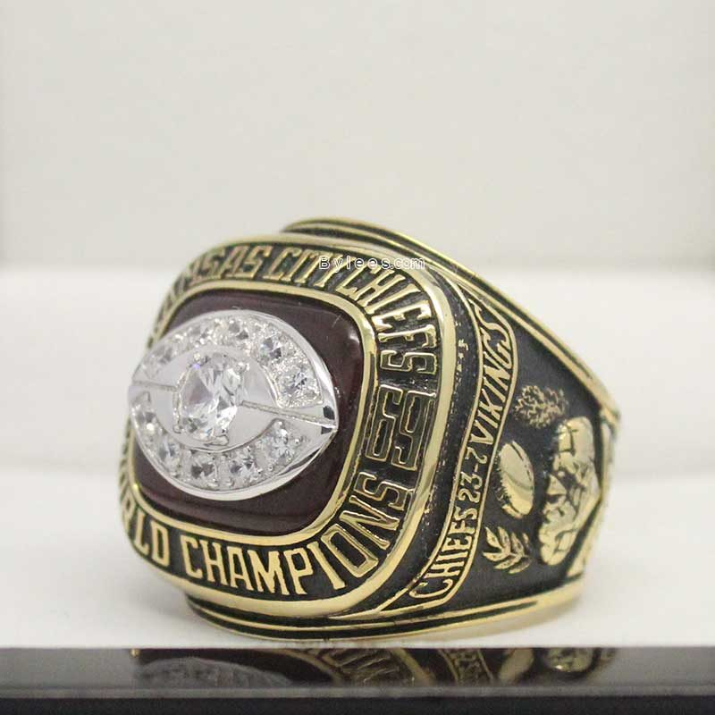 1969 Super Bowl IV Kansas City Chiefs Championship Ring