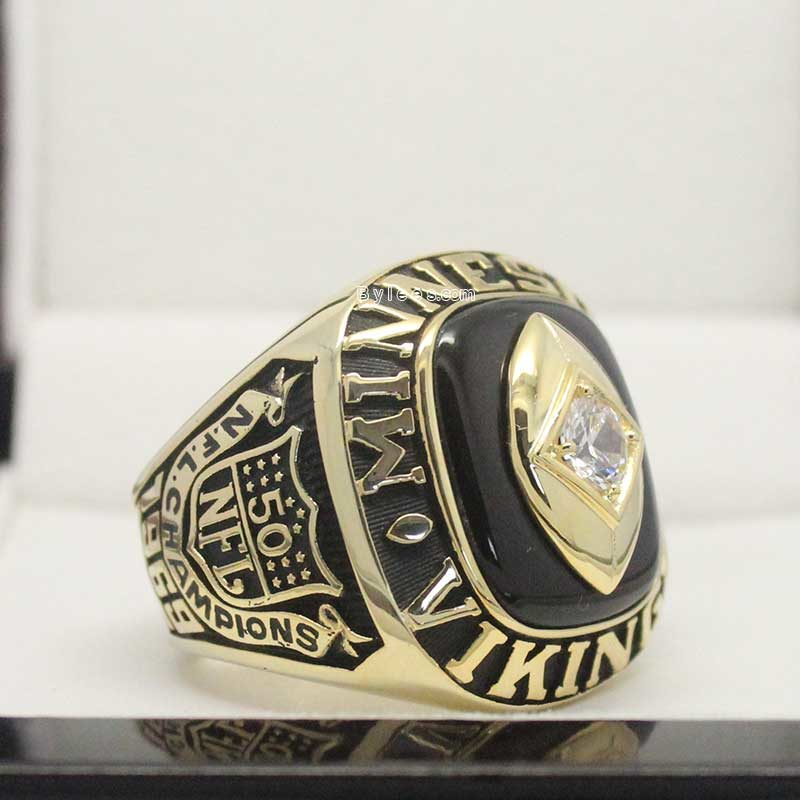 1969 Minnesota Vikings Championship Ring