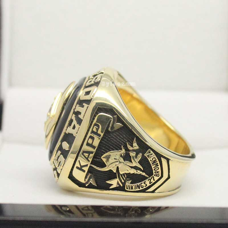 1969 Minnesota Vikings National Football Championship Ring