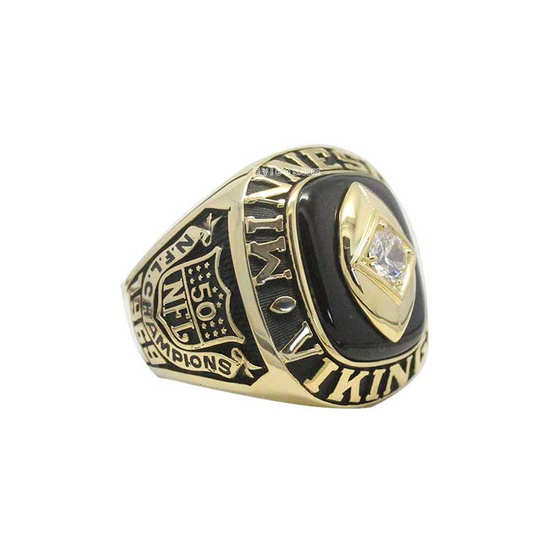 new custom grande football customized fantasy veteran img championship ring rings style products