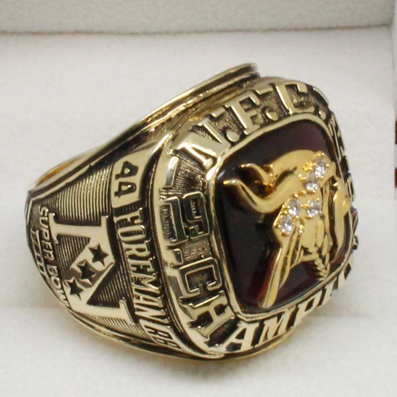 1973 NFC Championship ring
