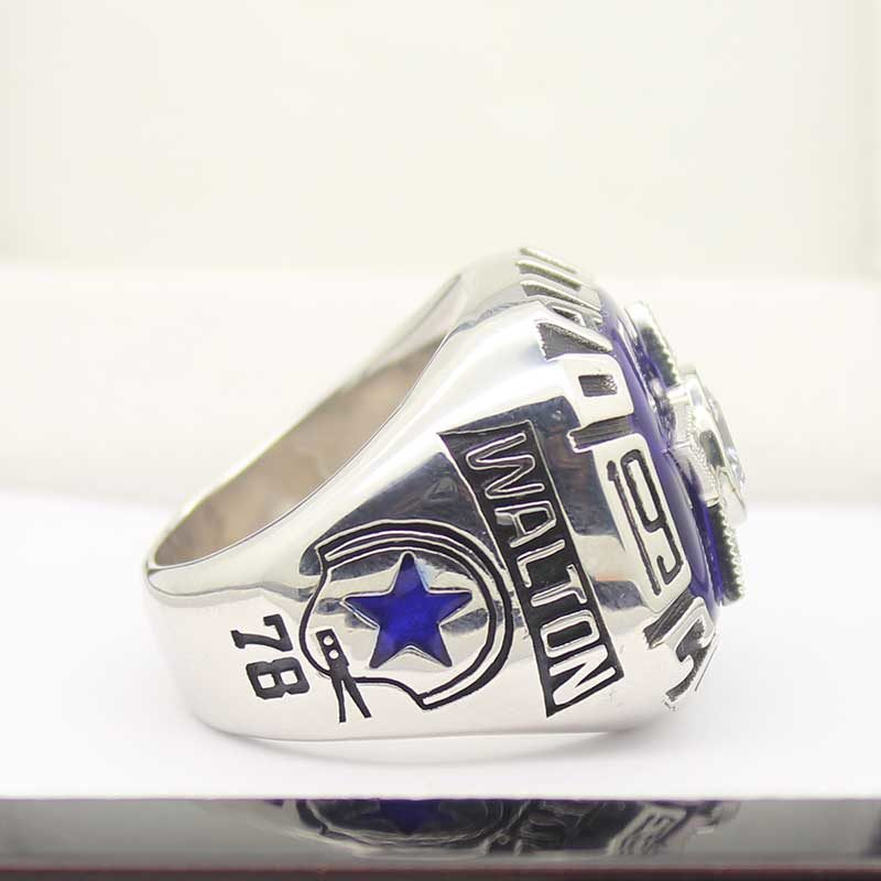 Right side view of Dallas Cowboys Championship Ring (1975)