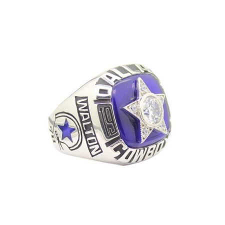 replica of Dallas Cowboys Championship Ring (1975)