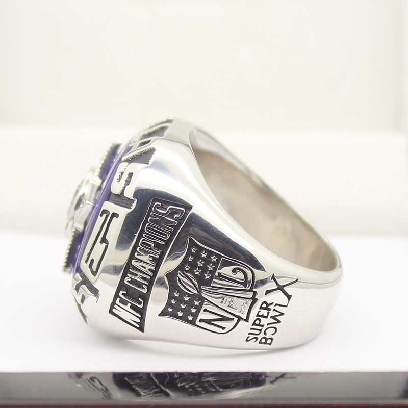 Left side view of Dallas Cowboys Championship Ring (1975)