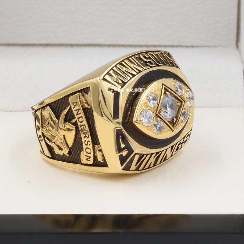1976 Minnesota Vikings Championship Ring