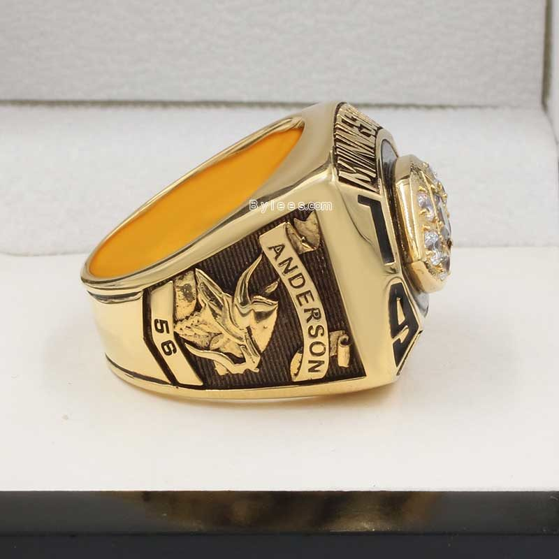 Minnesota Vikings Championship Ring 1976