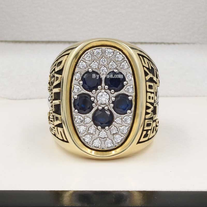 Front view of Dallas Cowboys Championship Ring (1978 NFC champions)