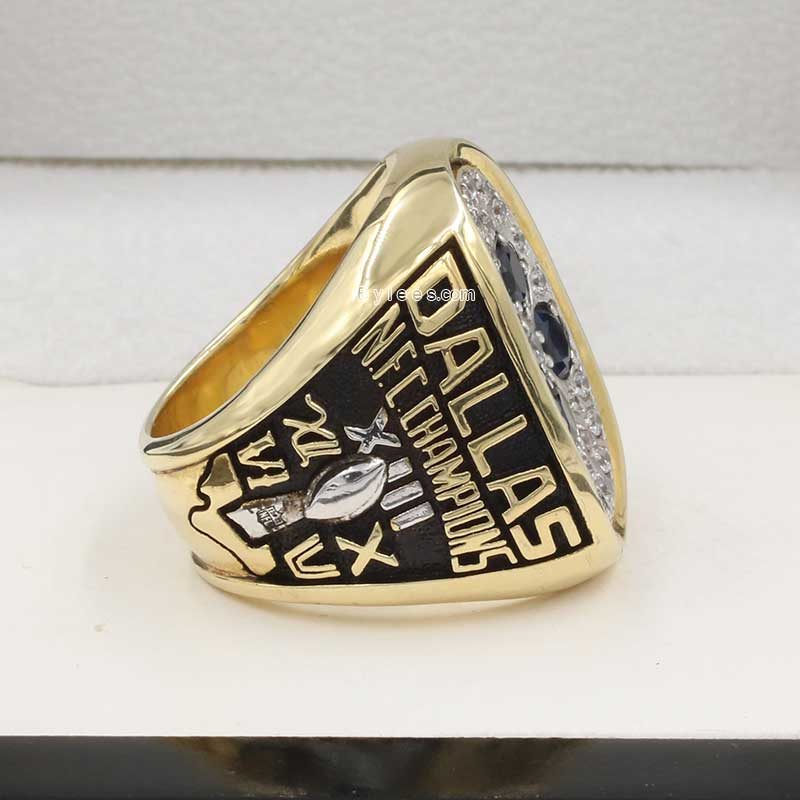 Right side view of Dallas Cowboys Championship Ring (1978 NFC champions)