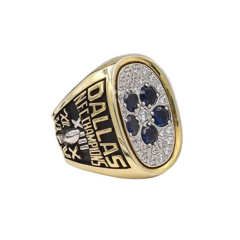 silver Dallas Cowboys Championship Ring (1978 NFC champions)