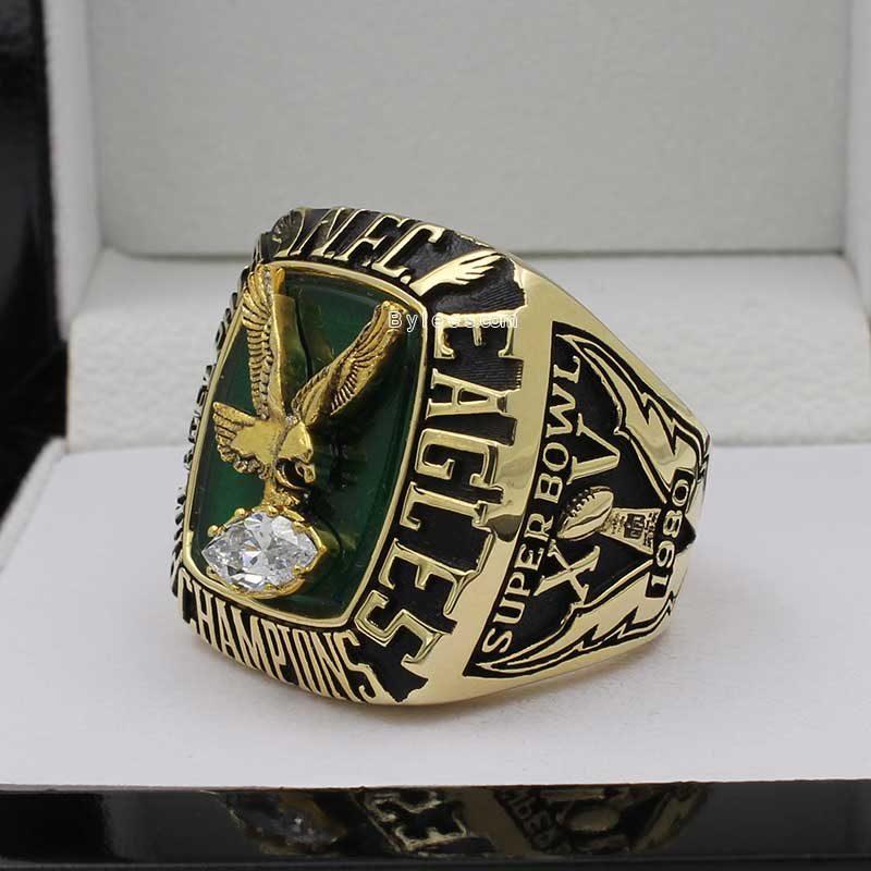 1980 Philadelphia Eagles National Football Championship Ring