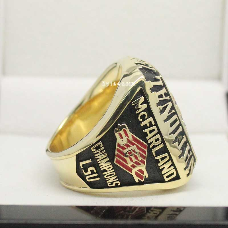 1996 Louisiana State Baseball National Championship Ring