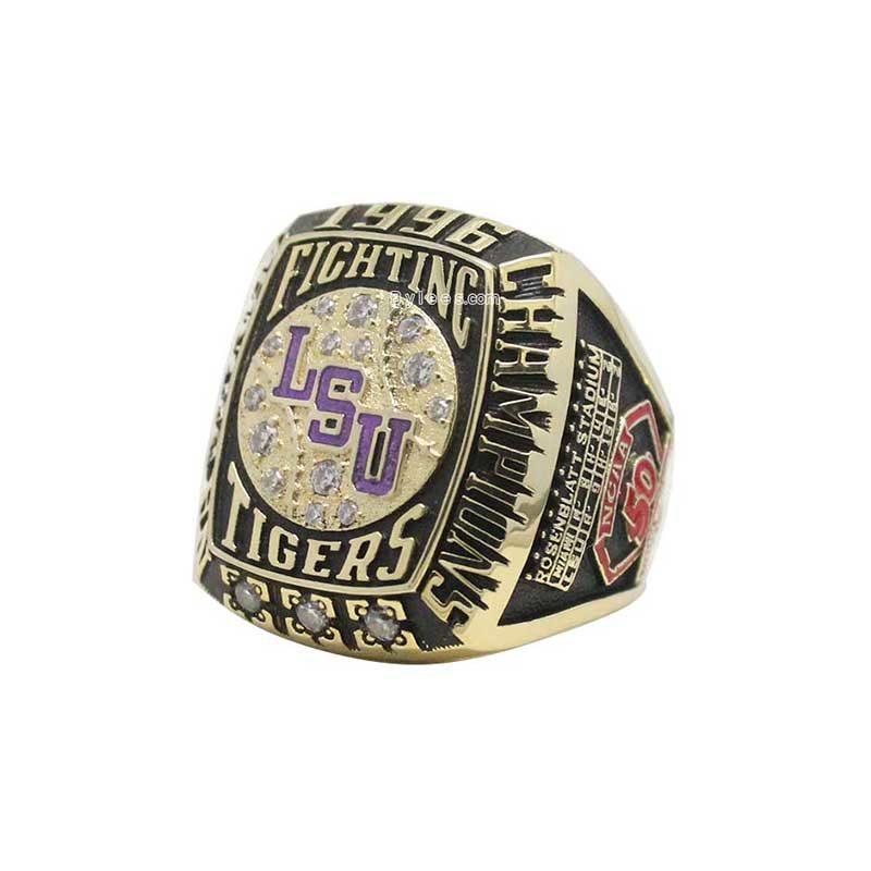 1996 LSU baseball Championship Ring
