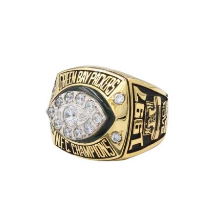 replica of green bay packers championship ring (1997 NFC champions)