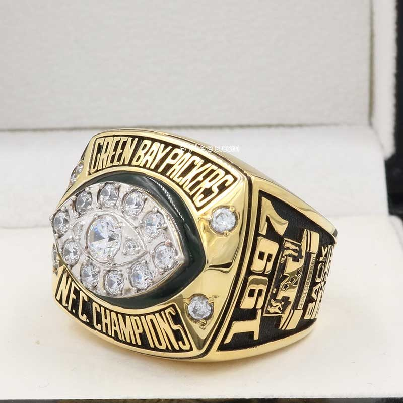 green bay packers championship ring ( 1997 NFC champions)