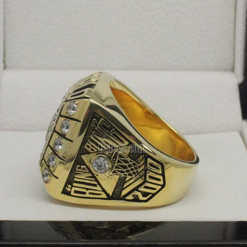 2000 lakers nba chmapionship ring