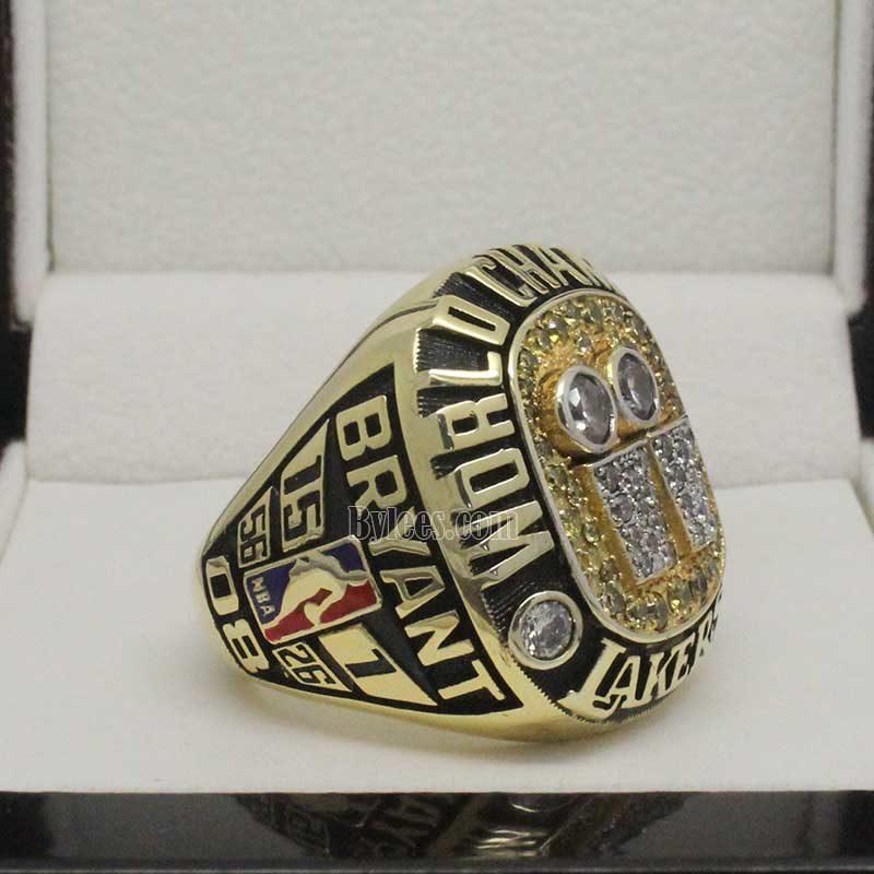 kobe championship rings