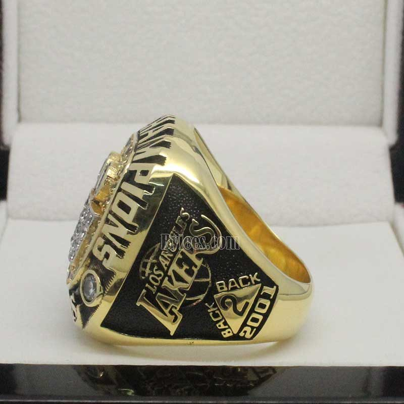2001 lakers championship ring