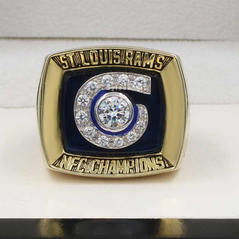 2001 St Louis Rams NFC Championship Ring